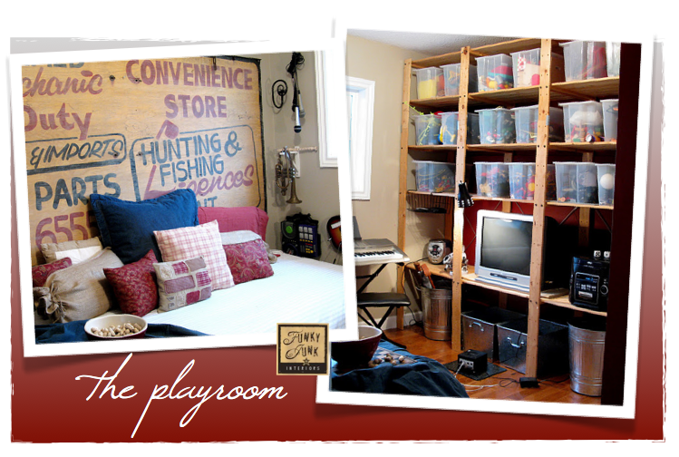 A boy's big bedroom plans – we've started! | Funky Junk Interiors