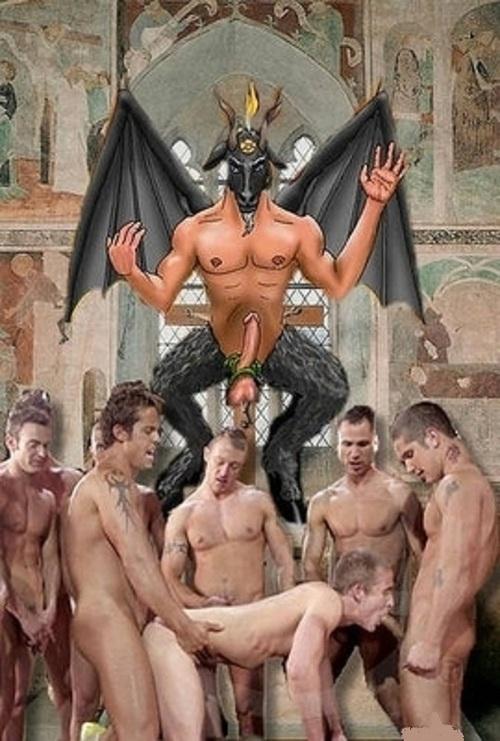 Demonic gay cock