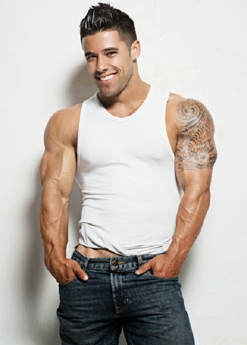 1fe237fb847d2 BurleighMan  The White Muscle Shirt aka