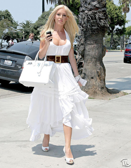 Heidi Montag Hot in Short Dress