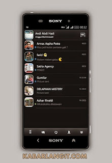 Download BBM MOD III Beta Version 2.8.0.21 Gratis