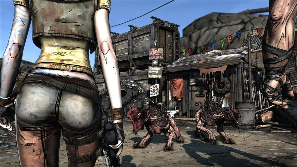 Borderlands HD & Widescreen Wallpaper 0.0445480340273017