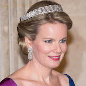 Style of Queen Mathilde of Belgium. jewelry, diamonds, diamond earrings, diamond rings, diamond necklaces, gold necklaces, gold bracelets, dresses,  clothes, clothing, shoe, wedding dress