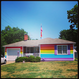The Equality House in Topeka, Kansas