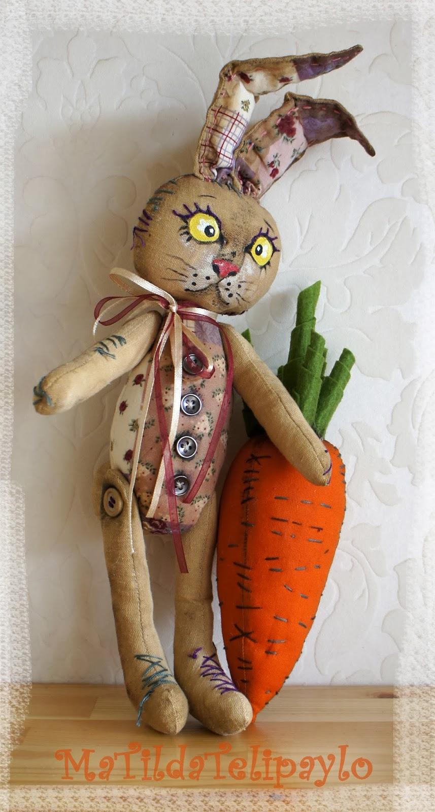 Заяц Вовка Морковкин