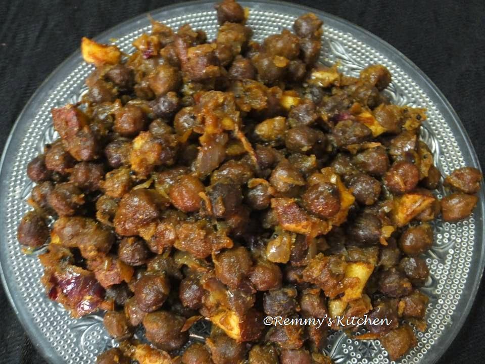 Kadala Olarthiyathu / Chickpea dry roast