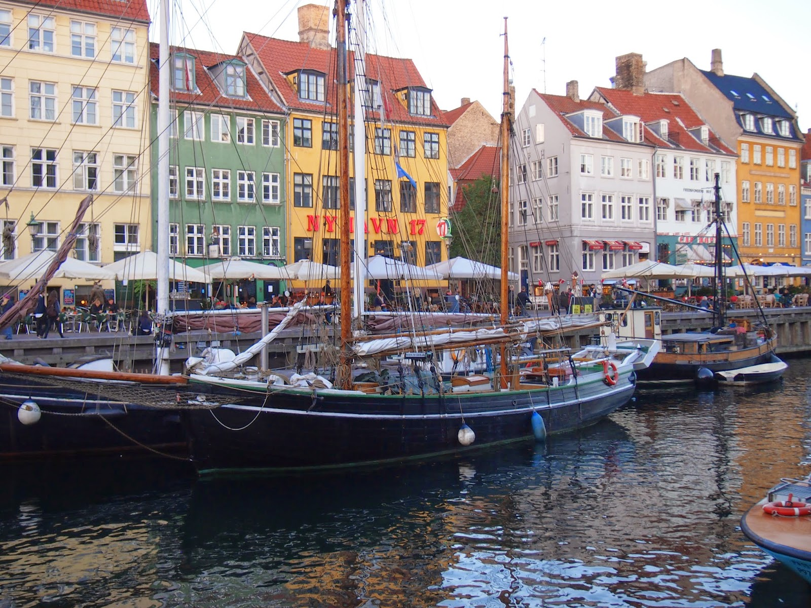 Boats at Nyhavn