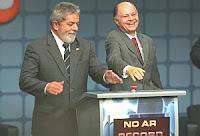 Luiz Inácio Lula da Silva com Edir Macedo
