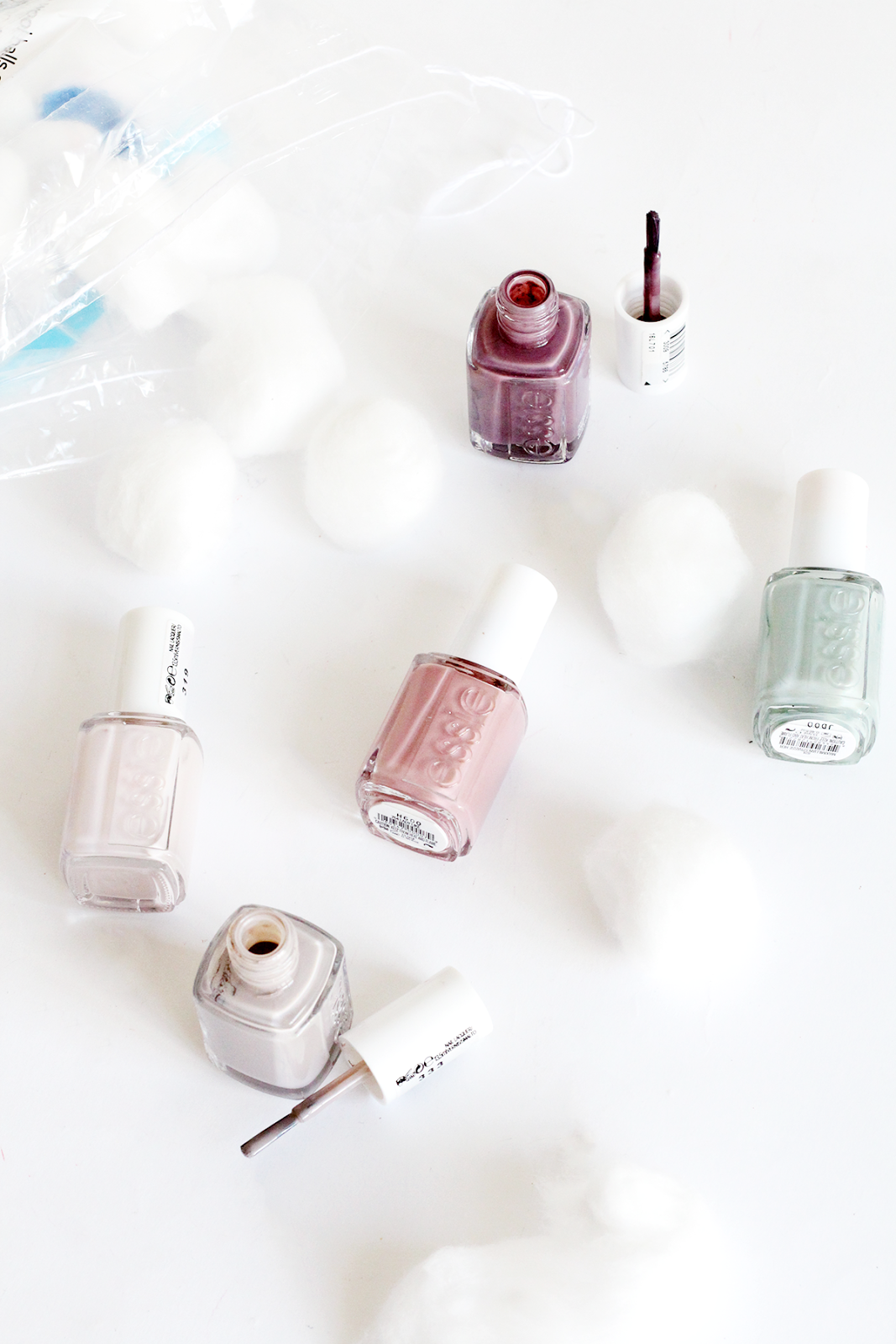 Essie Spring Shades - Urban Jungle, Lady Like, Take It Outside, Merino Cool and Maximillian Strasse-Her