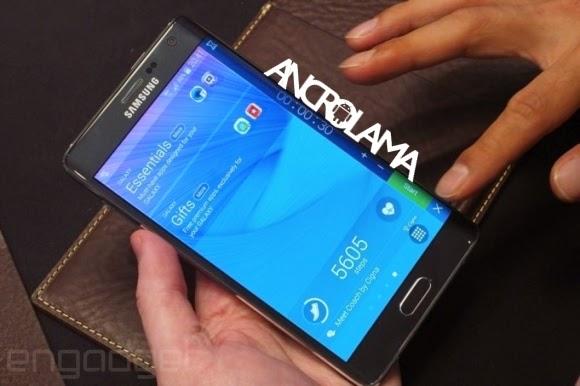 Galaxy Note Edge Tüm Detaylarıyla