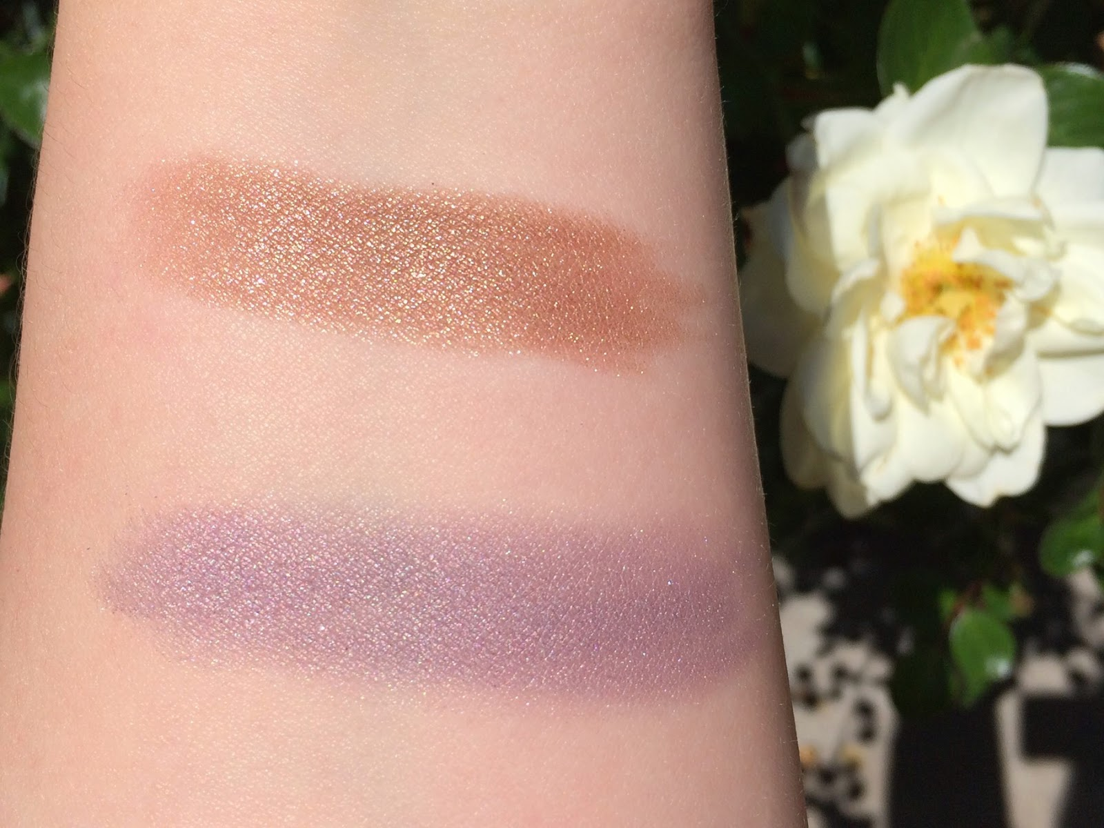 Chantecaille Gardens of Marrakech swatches and review