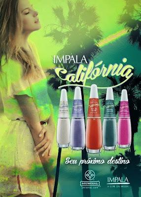 Cores novos esmaltes Impala próximo verão