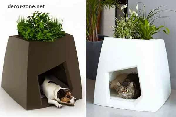 Superior Superieur Good Pets House And Indoor Flower Pots In One Design Images
