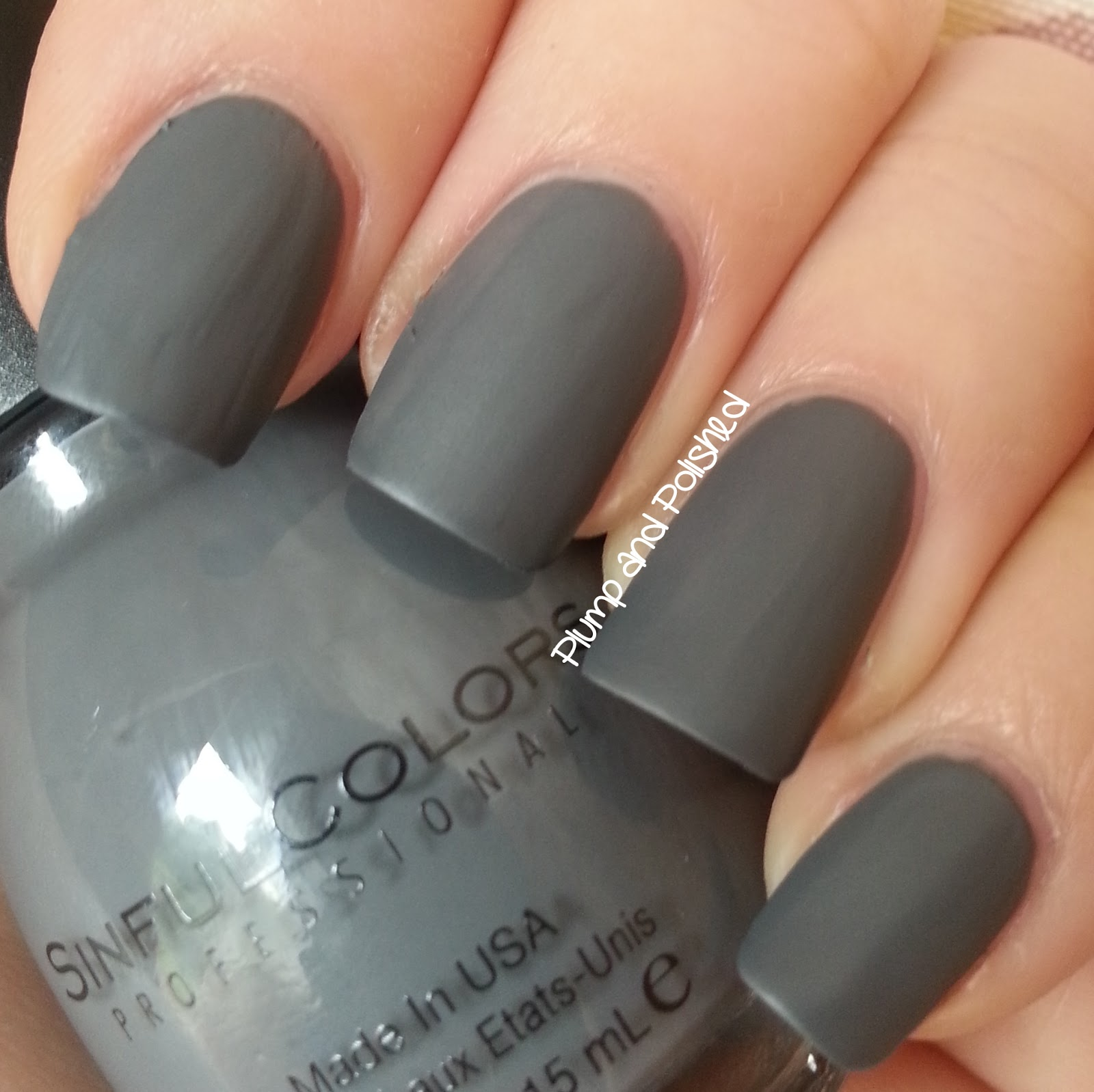 Easy Nail Design For Beginners Black Gold And Grey Matte Art Plump Polished Sinful Colors