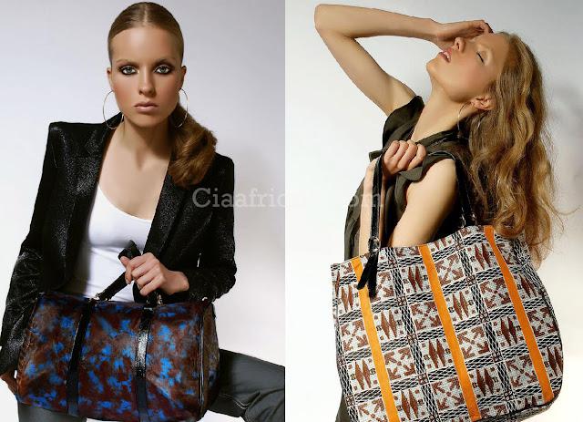 kitenge designs handbags on ciaafrique- sac en pagne africain sur ciaafrique