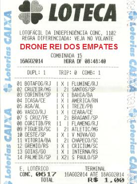 LOTECA 617 - DRONE DO MARTINS