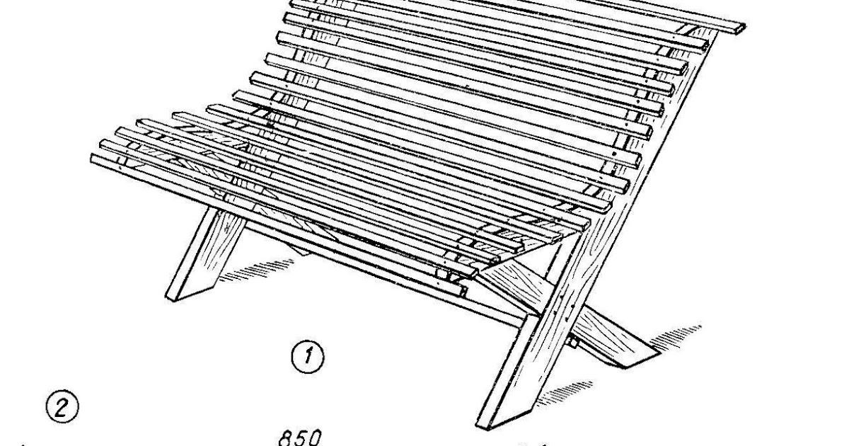 Лавка из бревна своими руками чертежи и размеры схемы 18