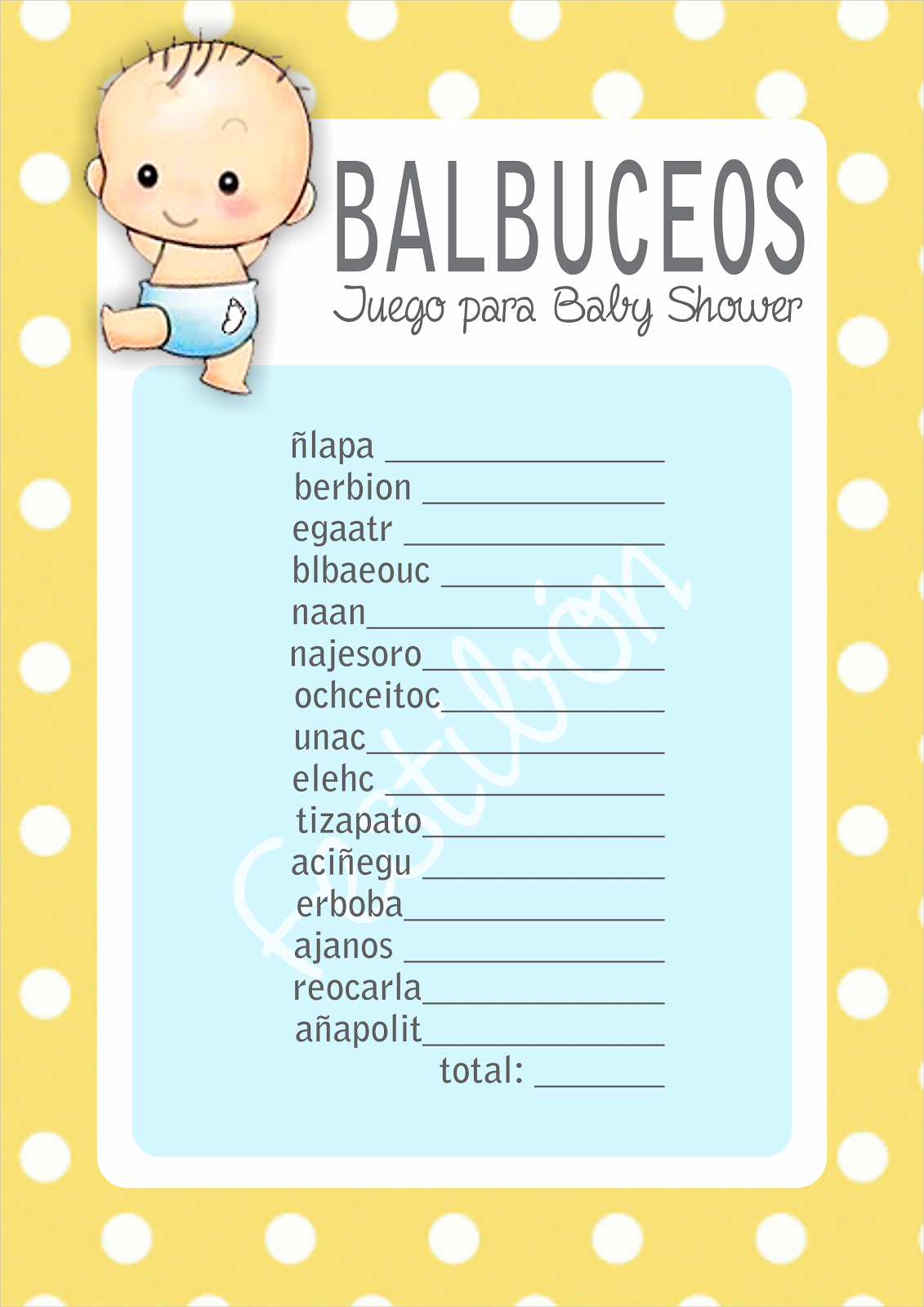 """""""Balbuceos"""""""