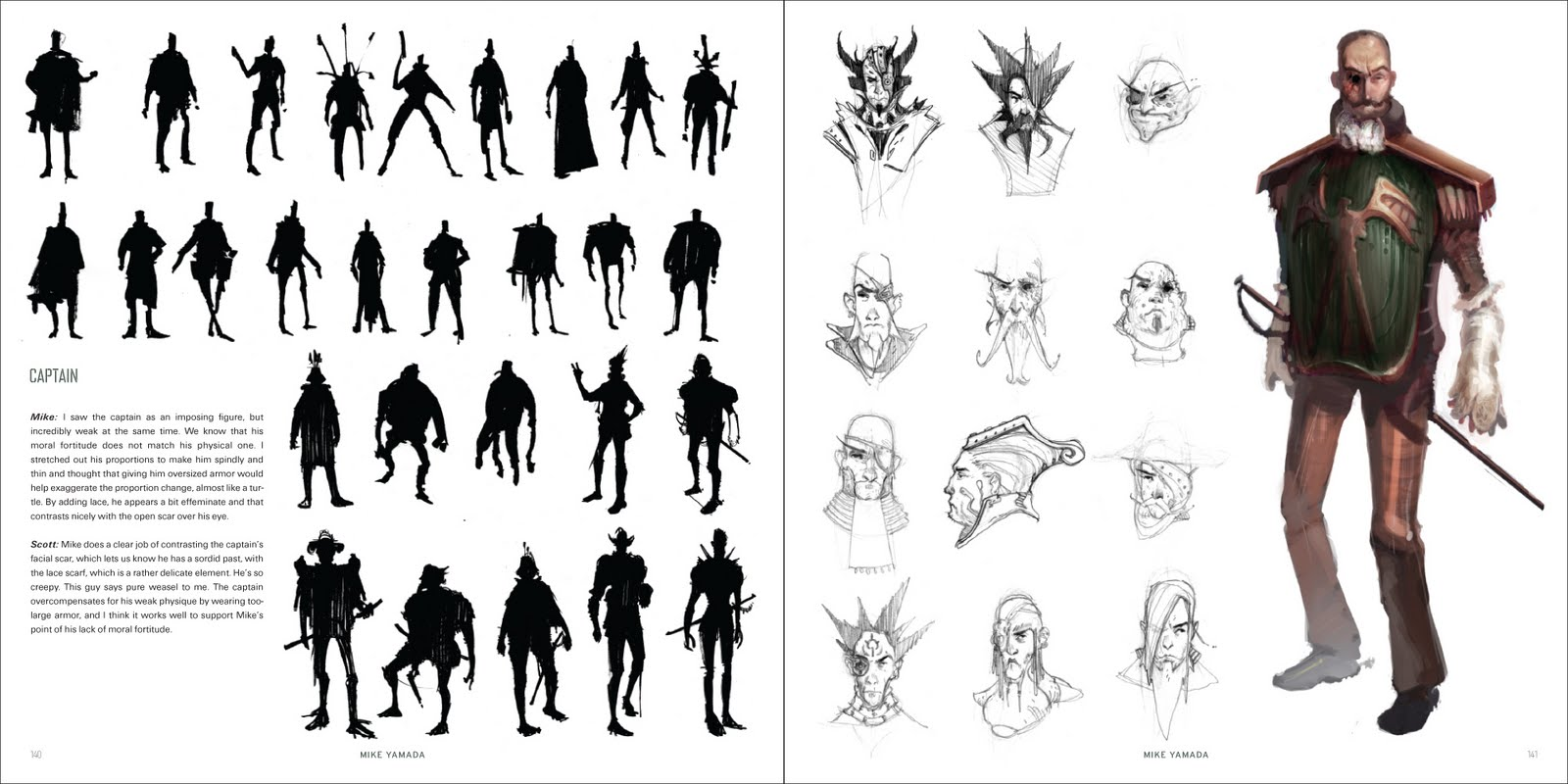 Character Design Silhouette Tutorial : Creature feature concept art silhouette monster