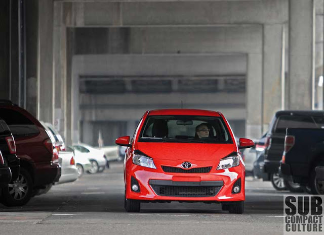 2012 Toyota Yaris driving - Subcompact Culture