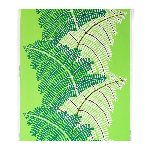 Ikea green fern Stockholm fabric