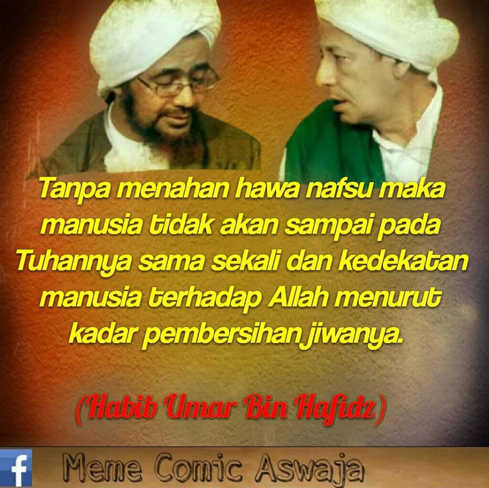 Kata Mutiara Habib Umar Bin Hafidz Meme Comic Santri Info Dunia