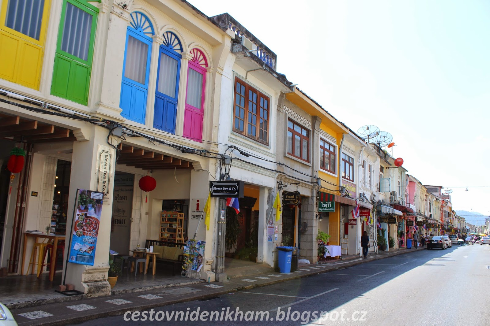 staré město v Phuket Town // Old Phuket Town