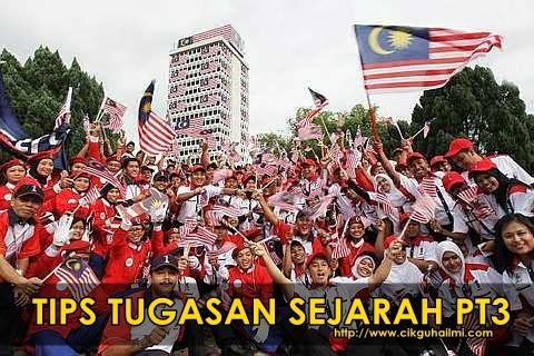 Tips Menyiapkan Tugasan Sejarah PT3 2014 HOT!