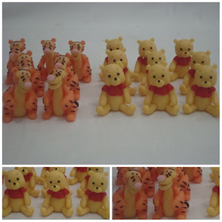 aplique de biscuit pooh e tigrão