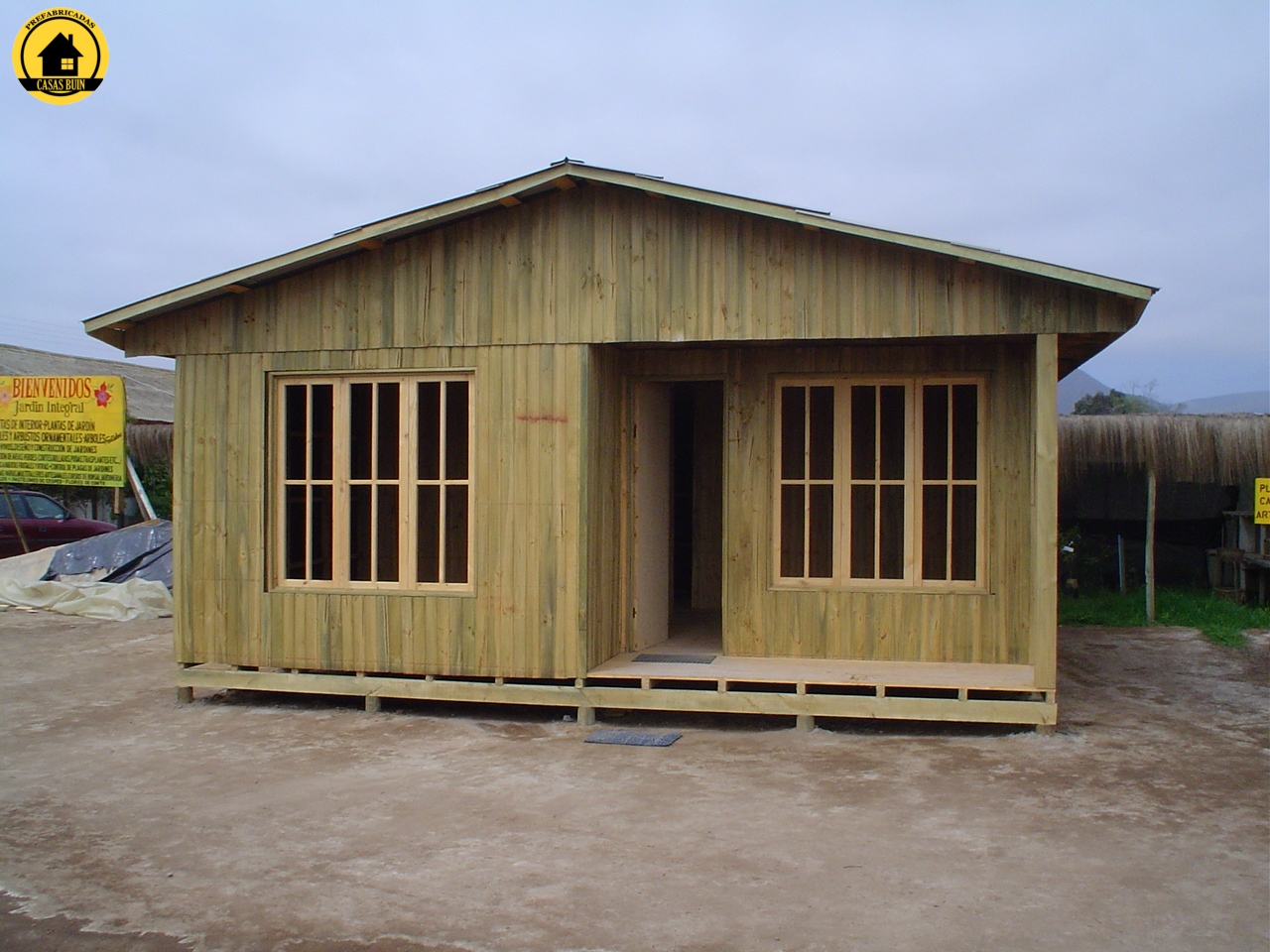 Casas prefabricadas buin en chile casas prefabricadas for Modelo de casa x dentro