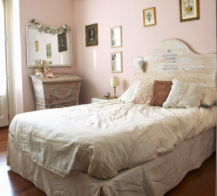 Home decor: camera da letto stile vintage