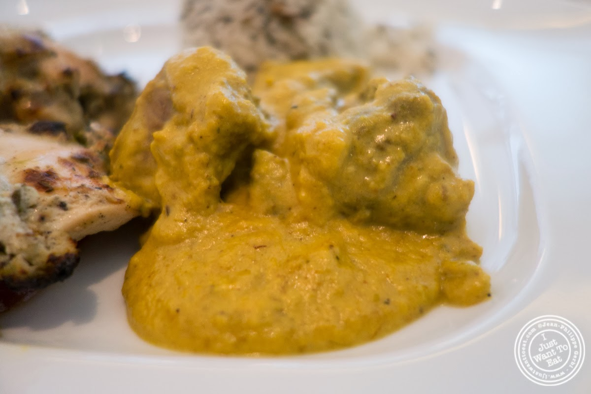 image of Taar Korma at Tamarind, Indian cuisine, in Tribeca, NYC, New York