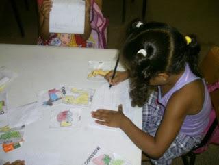 Atividade divertida de alfabetização