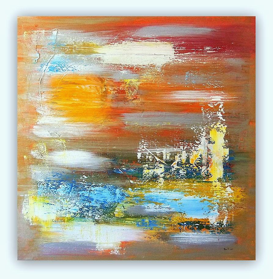 Quadri moderni astratti dipinti sanader art pittura for Quadri pittura astratta
