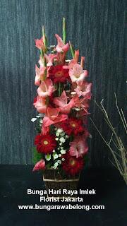 bunga lebaran imlek