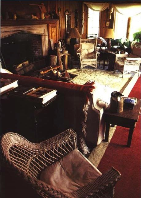 Katharine Hepburn's Fenwick, Connecticut Home.