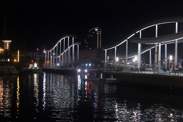 Port Vell At Night | Barcelona | Chichi Mary Blog