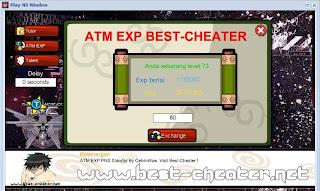 ATM EXP BEST-CHEATER ( PlayNS Standar )