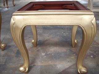 gold paint finish