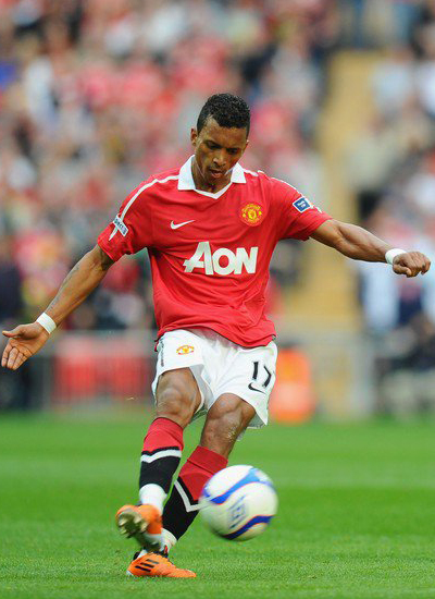 manchester united FA Cup semifinal Luis Nani Winger