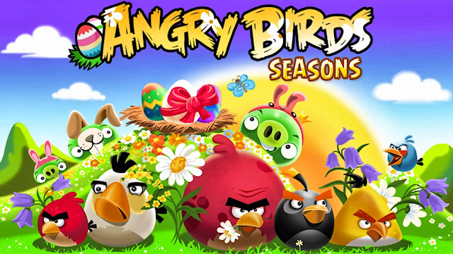Angry Birds Seasons Wallpaper
