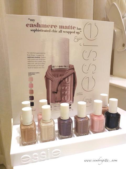 ESSIE Cashmere Matte Collection
