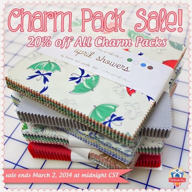 Fat Quarter Shop Charm Pack Sale