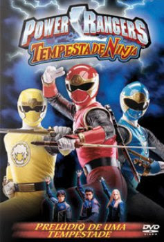 Capa - Power Rangers Tempestade Ninja