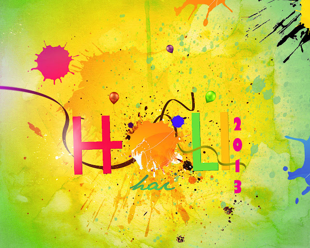 Happy Holi Fresh Wallpapers