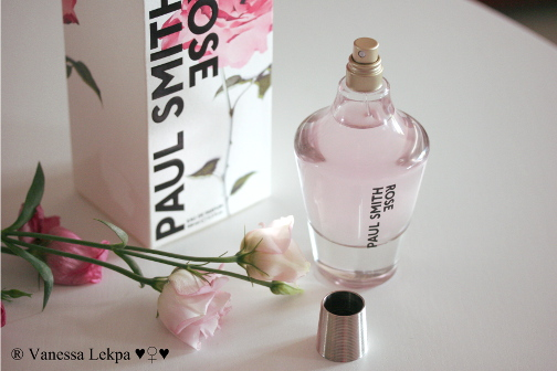 parfum de rose réaliste paul smith vanessa lekpa