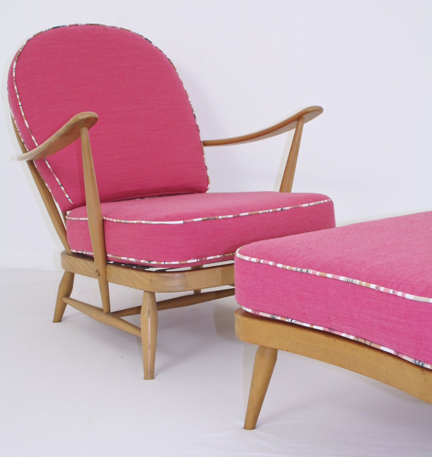 Love Vintage Furniture A Flock Of Ercol Armchairs