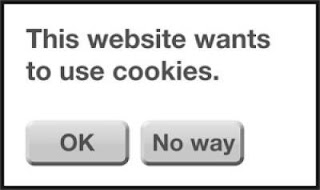 Notifikasi tentang cookie di negara-negara Uni Eropa