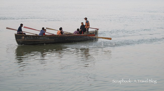Boating at Kali Ghat Patna Bihar
