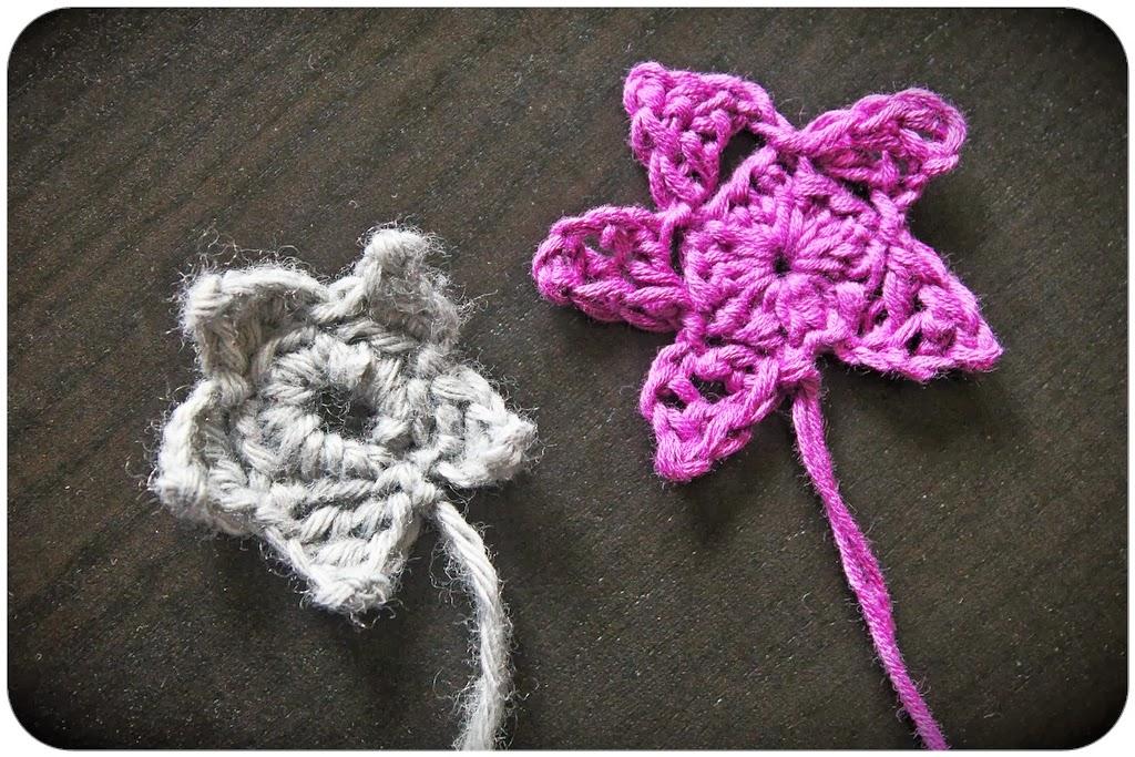 Bobines et p 39 tits chiffons crochet toile 5 branches - Modele etoile 5 branches a imprimer ...
